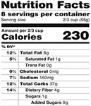 Be Sure to Read Labels for Portion, Calorie Control
