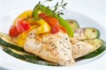 Garden Vegetable-baked Haddock