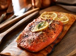Alaskan-seasoned Salmon