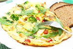 Spinach and Pimento Omelet