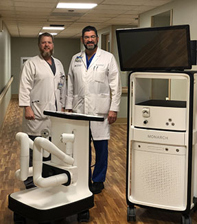 SMH Deploys New Robot to Target Hard-to-reach Lung Cancer