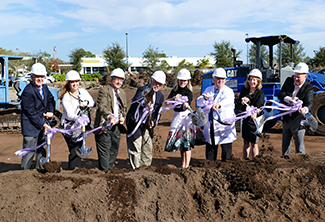 SMH Breaks Ground on Radiation Oncology Center