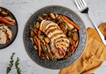 Roasted Turkey Breast with Root Vegetables