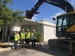 Demolition Paves Way for New Behavioral Health Pavilion