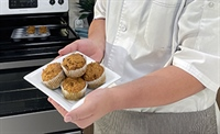 Pumpkin Oat Muffins | Thrive in the Kitchen Healthy Cooking Series