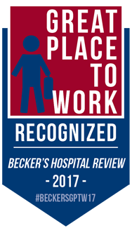 SMH listed in Becker's Healthcare 150 Great Places to Work