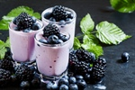 Black and Blue Berry Smoothie