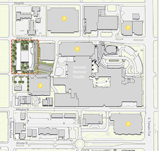 Behavioral Health Pavilion Site Plan
